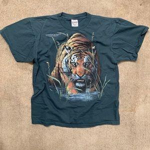 Vintage Tiger Extinction Single Stitch Shirt